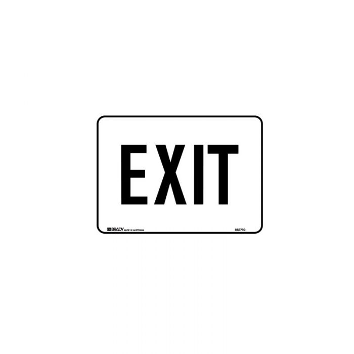 863792 Hospital-Nursing Home Sign - Exit