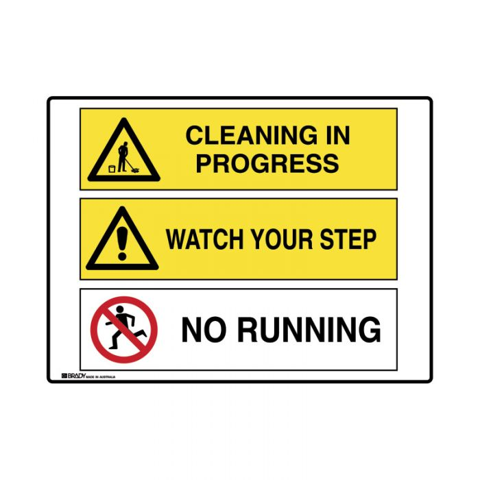 871527 Multiple Message Sign - Cleaning