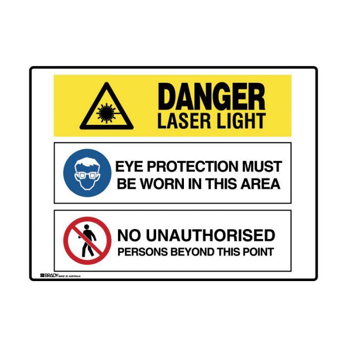 871537 Multiple Message Sign - Laser Light