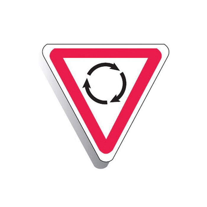 873947 Directional Traffic Sign - Round About