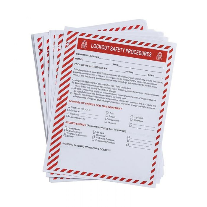 LOSF5 Prinzing Safety Procedure Forms