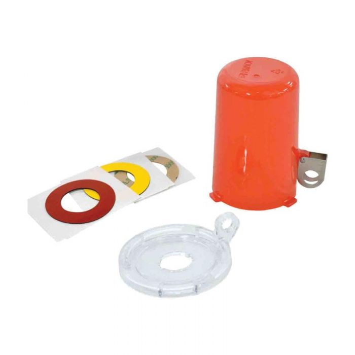 PF130824 Twist And Secure Push Button And E-Stop Safety Covers