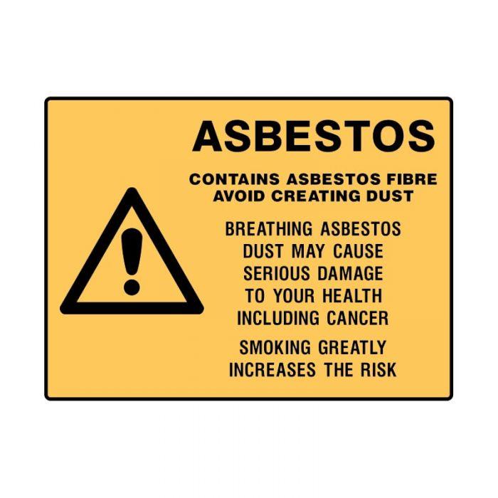 PF832267 Asbestos Sign - Asbestos