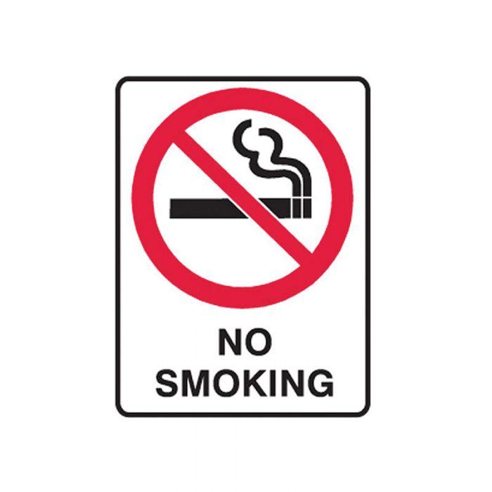 PF833326 Small Stick On Labels - No Smoking