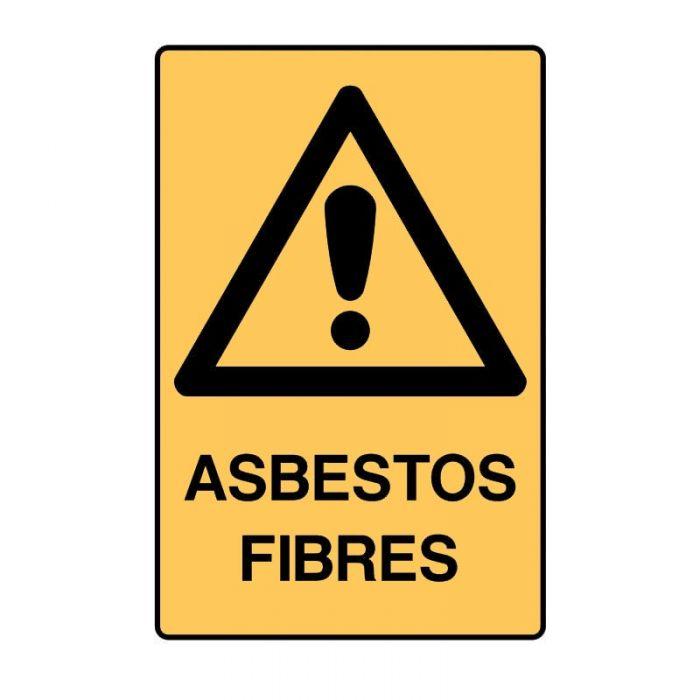 PF834599 Asbestos Sign - Asbestos Fibres