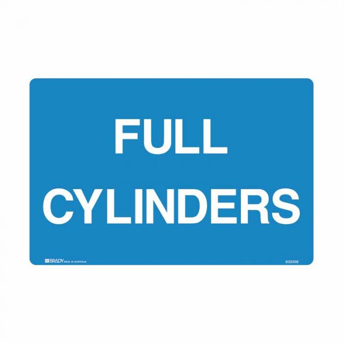 PF835120 Building & Construction Sign - Full Cylinders