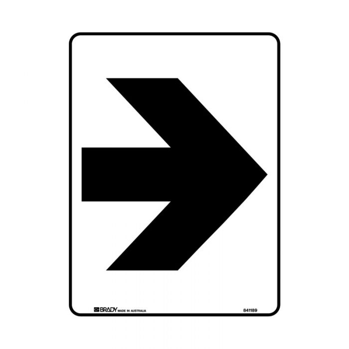 PF841186 Directional Sign - Arrow Right Symbol