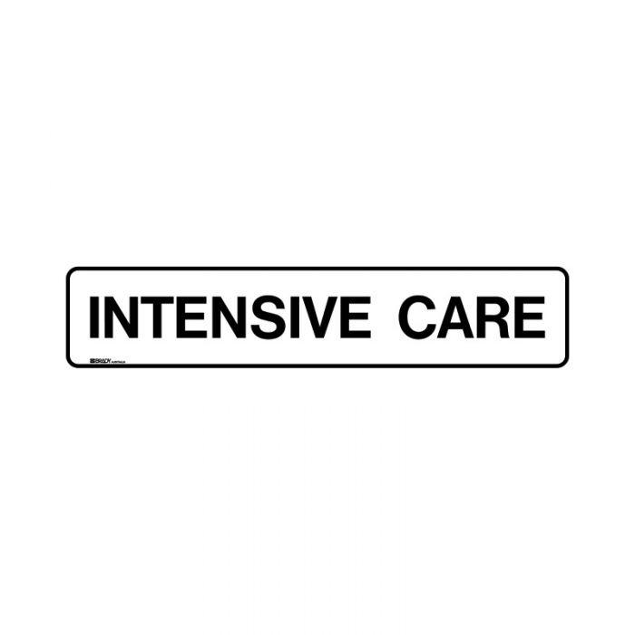 PF852883 Hospital-Nursing Home Sign - Intensive Care