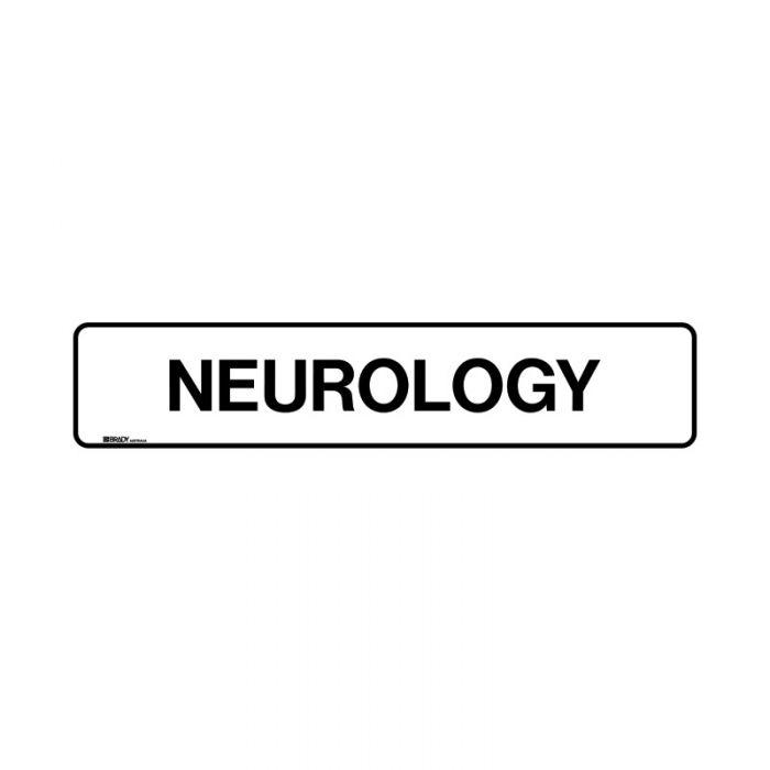 PF852893 Hospital-Nursing Home Sign - Neurology