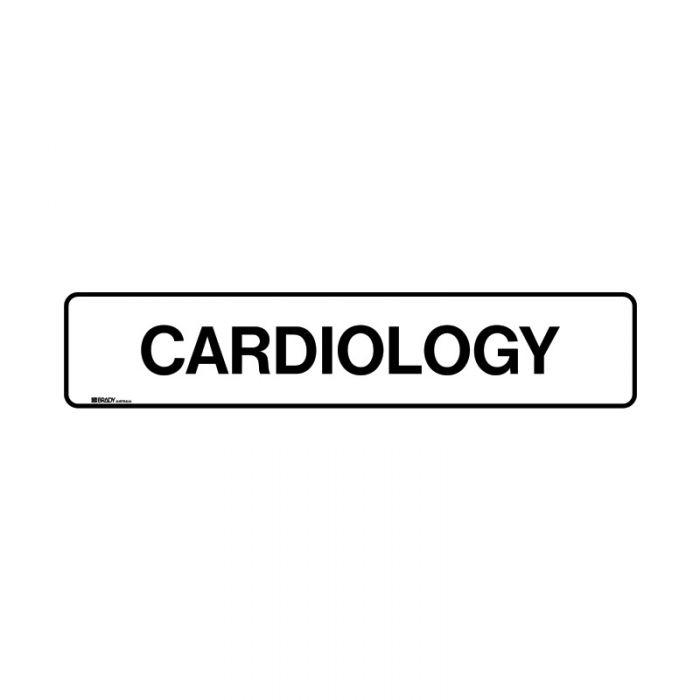 PF852903 Hospital-Nursing Home Sign - Cardiology