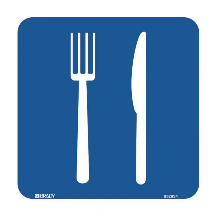 PF855915 Hospital-Nursing Home Sign - Cutlery Symbol