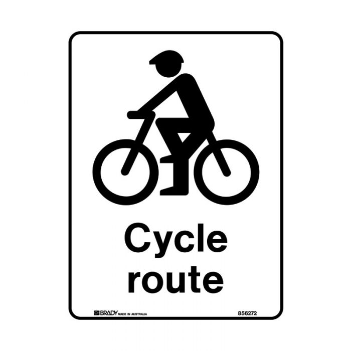 PF856273 Public Area Sign - Cycle Route