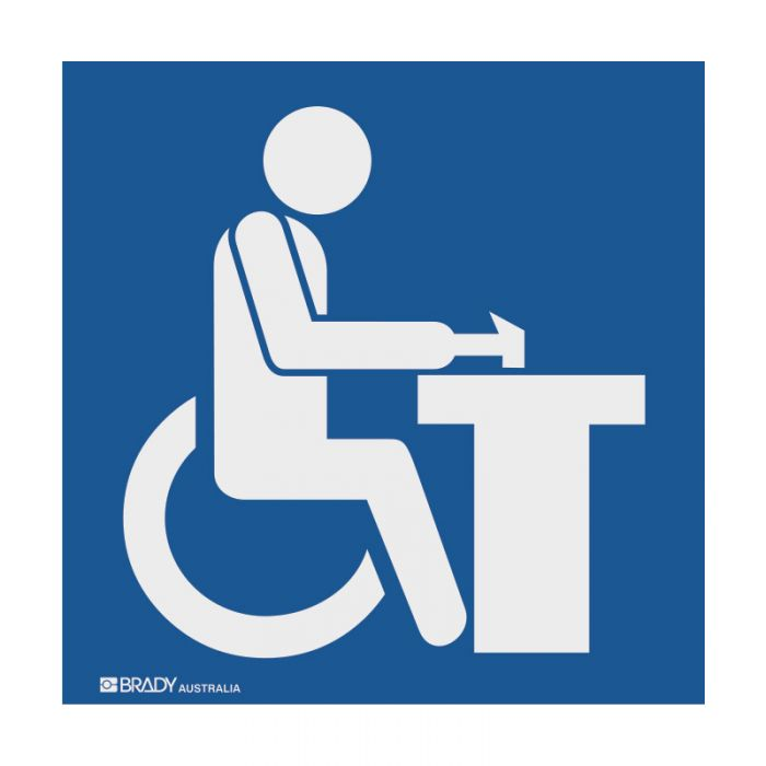 PF859152 Hospital-Nursing Home Sign - Occupational Therapy Symbol