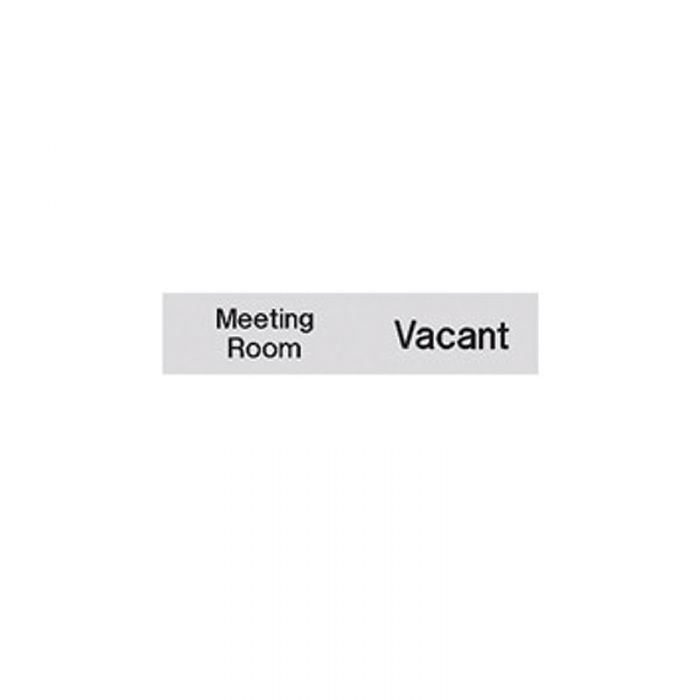 PF863165 Engraved Office Sign - Occupied-Vacant - Meeting Room