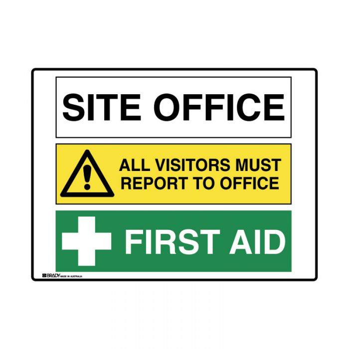 PF871512 Multiple Message Sign - Site Office