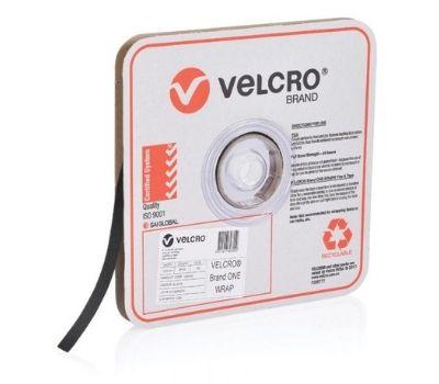 VELCRO Brand ONE WRAP® Black 12.5mm x 22.8m