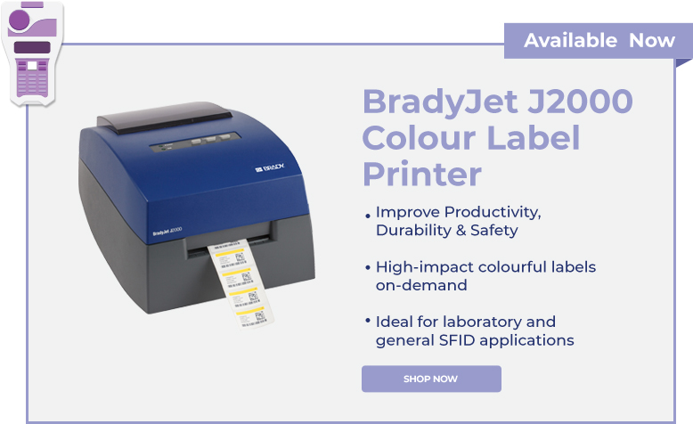 BradyJet J2000 Colour Label Printer