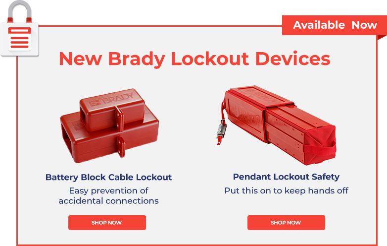 New Brady Lockout Devices